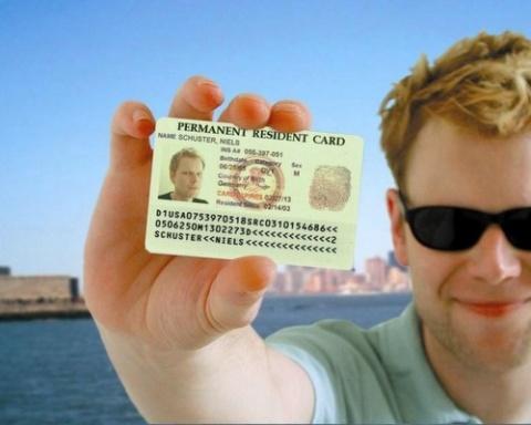 thẻ xanh mỹ