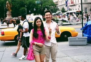 Ngoài giờ học, Hồng Nhung rất thích khám phá các địa danh văn hóa và môi trường sống tại New York