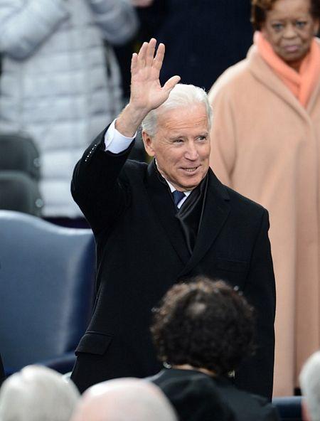 Phó tổng thống Joe Biden tới lễ nhậm chức.