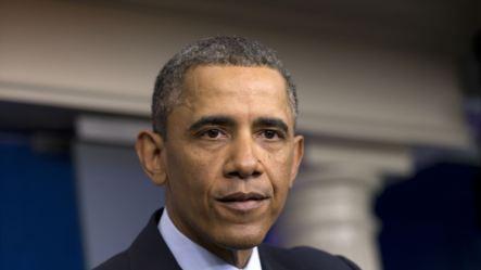 Tổng thống Obama phát biểu với truyền thông tại Nhà Trắng sau cuộc họp với các nhà lãnh đạo Quốc hội về cắt giảm tiêu công tự động ngày 1/3/2013.