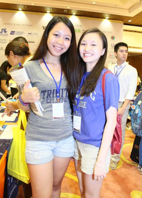 Dáng vẻ năng động, tự tin của các nữ sinh Việt hiện đang học tập tại Mỹ