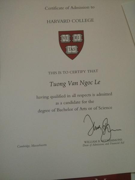 Đại học Mỹ Harvard  Cô gái Việt nhận học bổng toàn phần của 7 trường Đại học danh tiếng