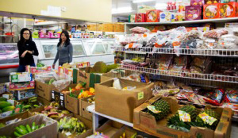 Chuyện đi chợ của Sinh viên Việt ở Mỹ