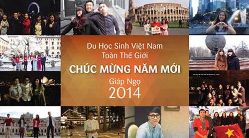 Video chúc Tết độc đáo của du học sinh ViệtVideo chúc Tết độc đáo của du học sinh Việt