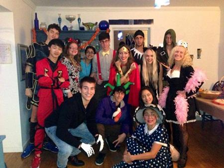 """""""Happy 2014!"""" từ chương trình học bổng Giao lưu văn hóa Mỹ"""