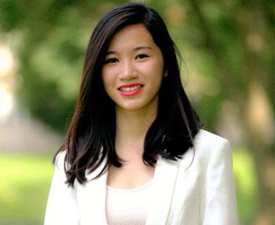 Nữ sinh gốc Việt được IREM chọn làm 'Sinh Viên Của Năm'