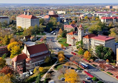 University of Kansas (KU) là trường đại học đẳng cấp quốc tế.