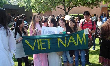 Du học sinh Việt Nam đông thứ 6 tại Mỹ.