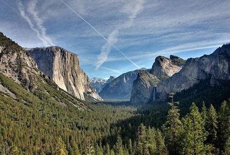 Ghé thăm Tunnel View ở Công viên Quốc gia Yosemite
